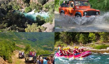 River Rafting and Jeep Safari Combo Tour